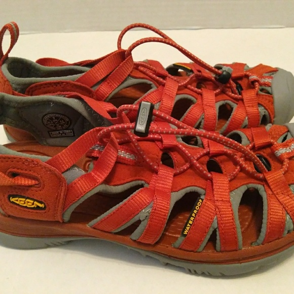 613af9391987 Keen Shoes - KEEN WHISPER Sandals Women 7 US Waterproof Orange